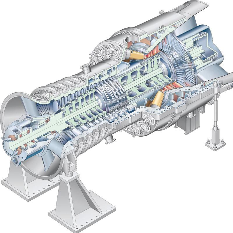 газовая турбина с картинками говорить кратко